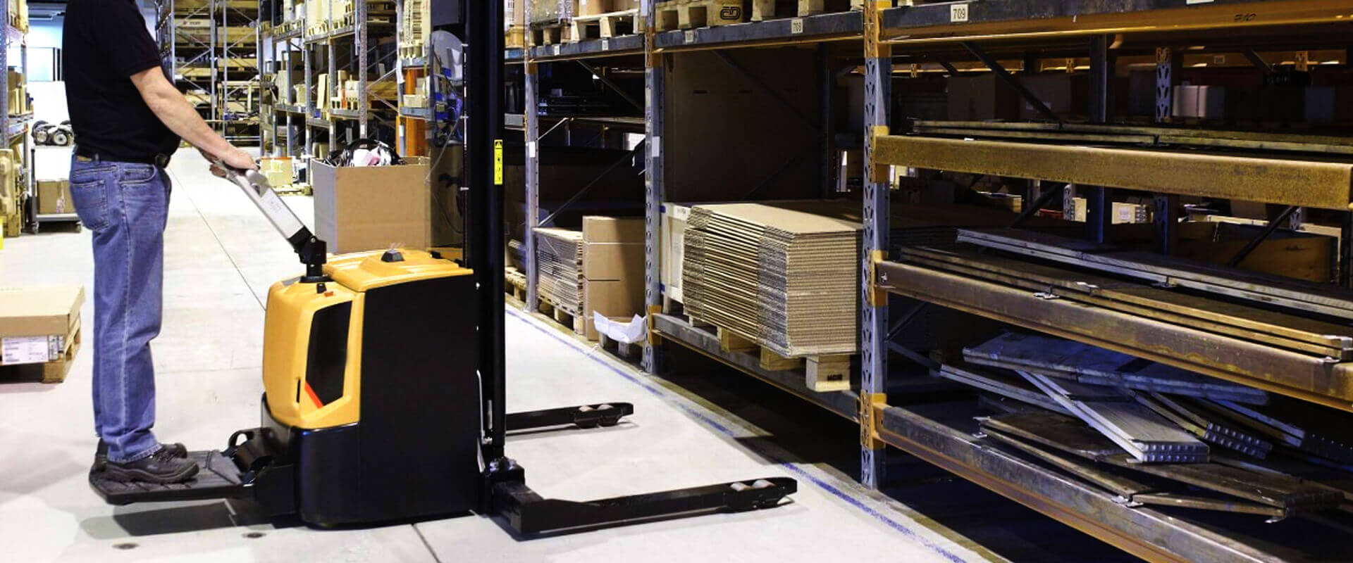 We provide Materials Handling Solutions